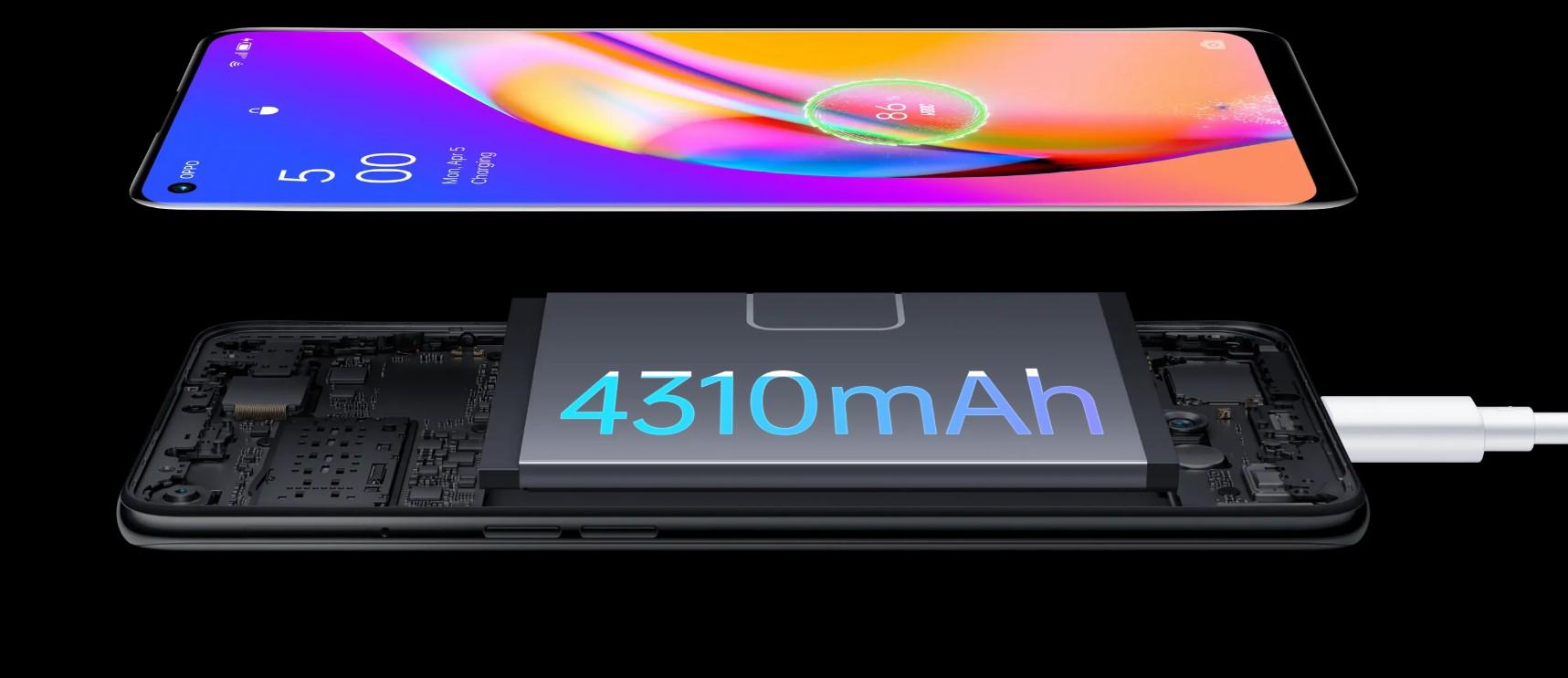 Geniş Hafıza ve Yüksek Pil Gücü ile Oppo Reno 5 Lite 128 GB Cep Telefonu