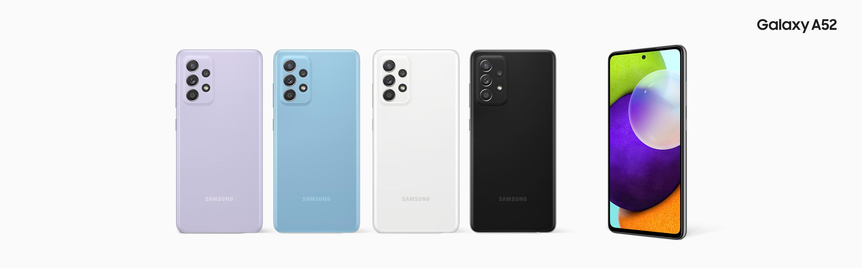 Samsung Galaxy A52 128GB / 8 GB ile Üst Düzey Tasarımı Deneyimleyin!