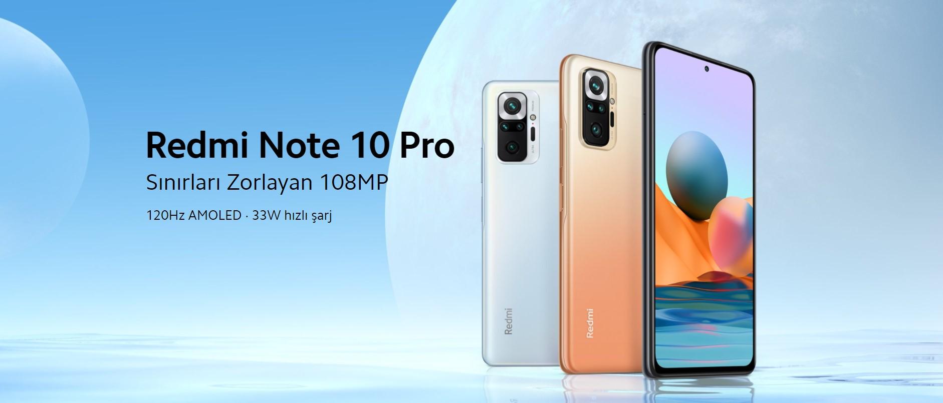 Xiaomi Redmi Note 10 Pro 8 GB Ram 128 GB Cep Telefonu