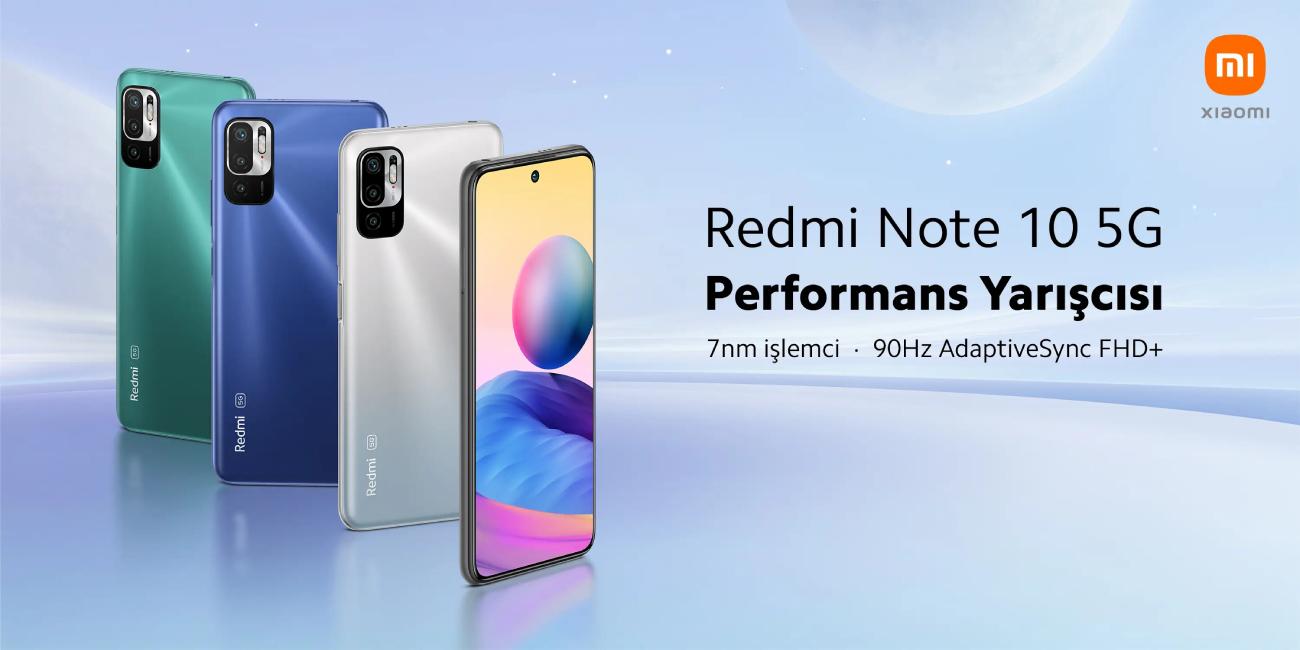 Xiaomi Redmi Note 10 5G 128 GB (Xiaomi Türkiye Garantili) Cep Telefonu