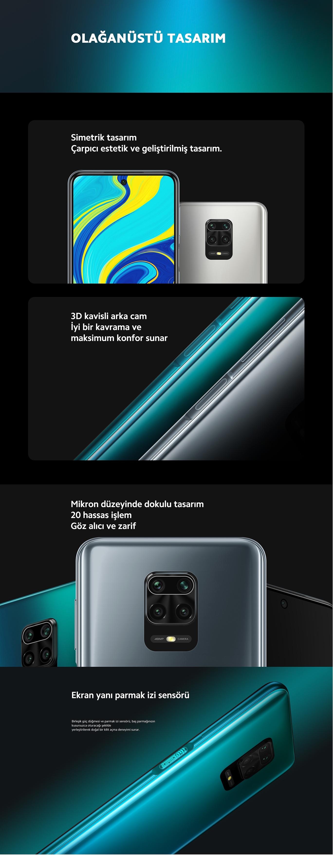 Xiaomi Redmi Note 9S Cep Telefonu