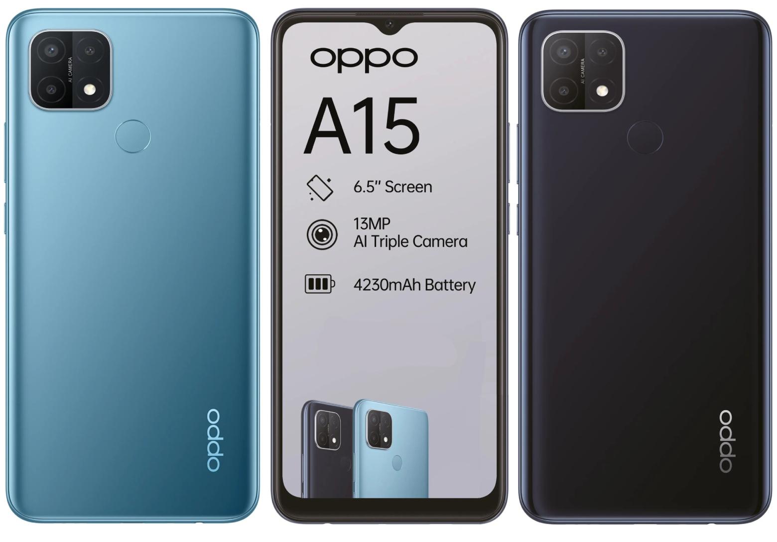 Oppo A15 2 GB 32 GB Cep Telefonu Kamera Özellikleri