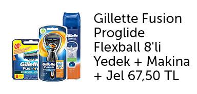 Gillette Tıraş Ürünlerinde İndirim