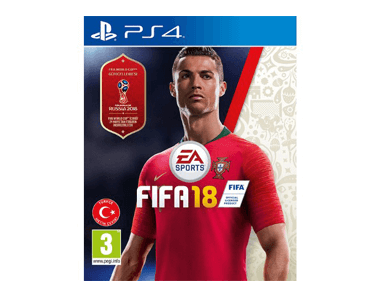 PS4 FIFA 18 - World Cup Russia 2018 - Fifa 18 Özel Seri