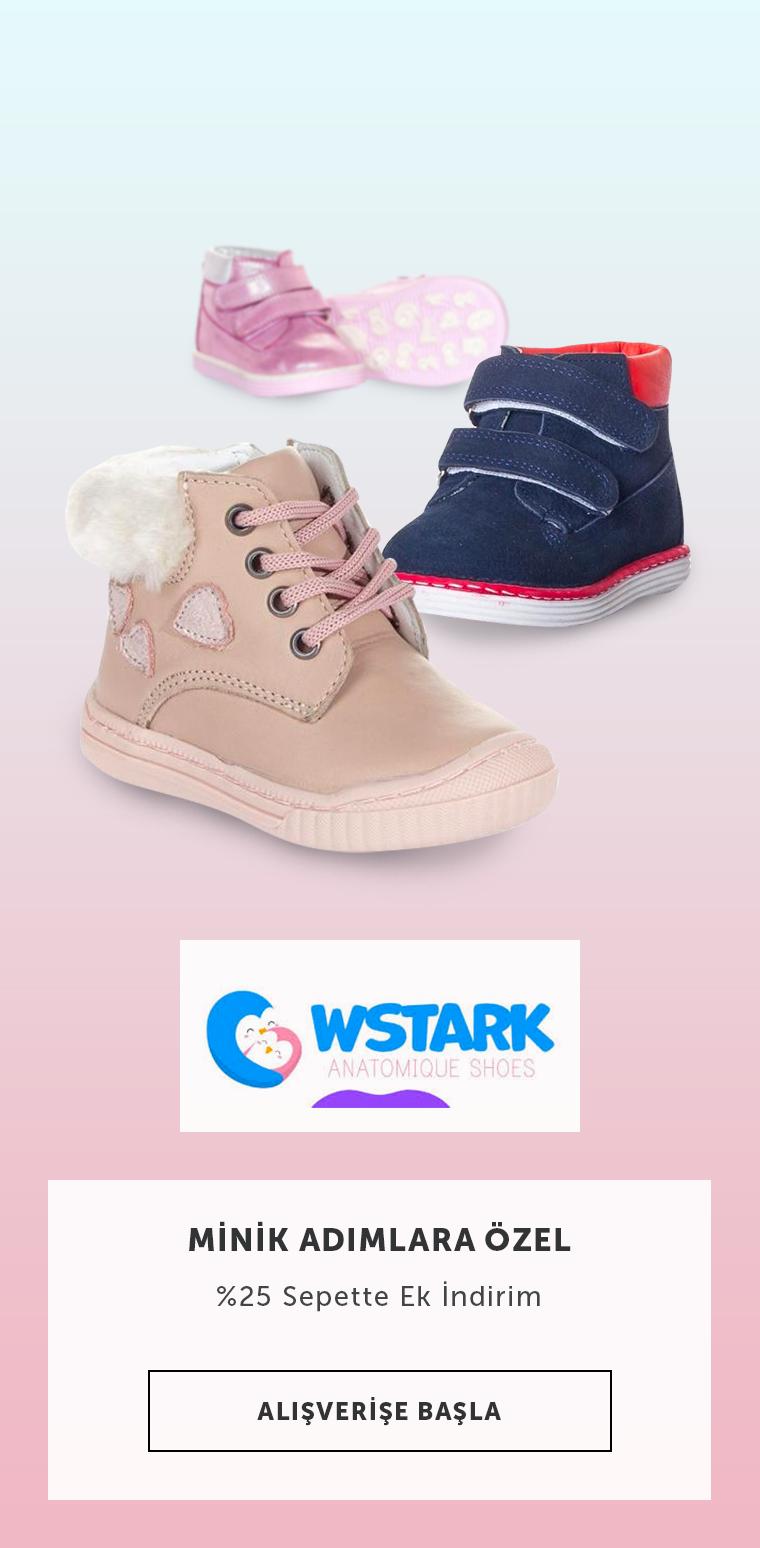 Wstark Bebek Ayakkabılarında %25 Sepette İndirim