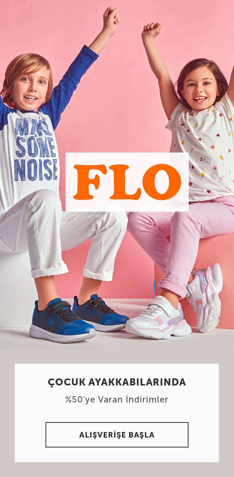 Flo Çocuk Ayakkabılarında %50'ye Varan İndirimler