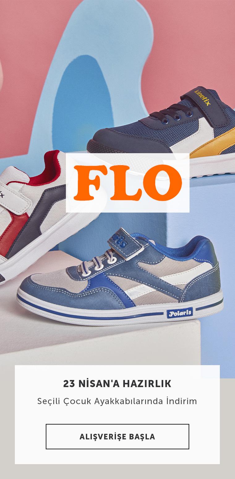 Flo Seçili Çocuk Ayakkabılarında 23 Nisan'a Özel İndirimler