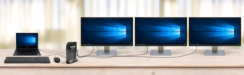 Takılabilir UD-ULTCDL Üçlü Ekran Bağlantı İstasyonu