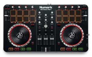 Numark Mixtrack Pro II Üst