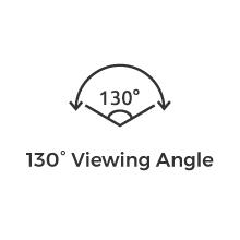 130 derece geniş görüş açısı