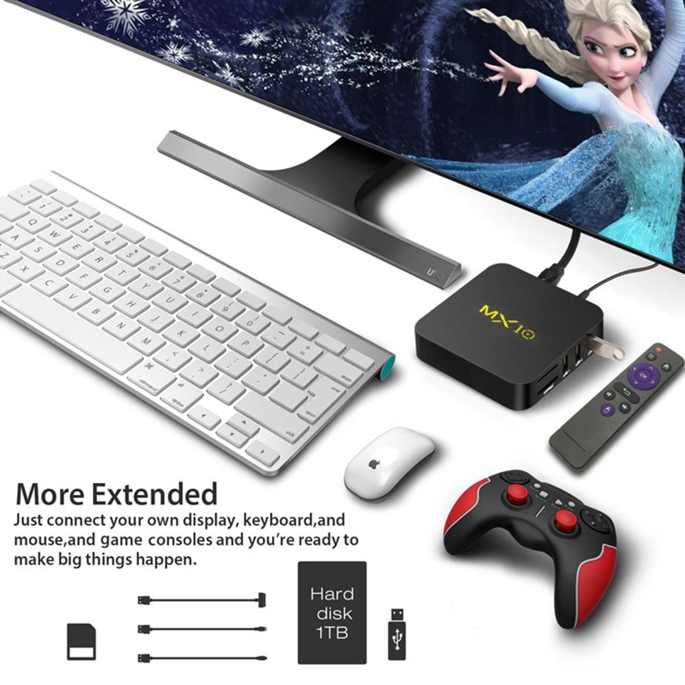 MX10 TV Box- Siyah EU Fiş