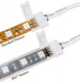 Connector for RGB LED strips, white, 70 cm
