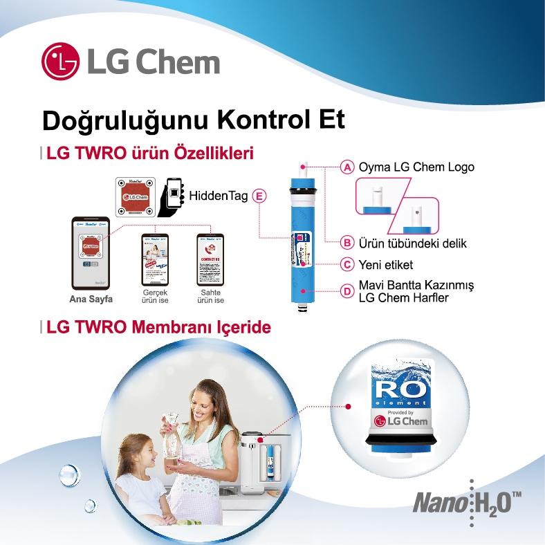 LG Membran Orjinallik Kontrol
