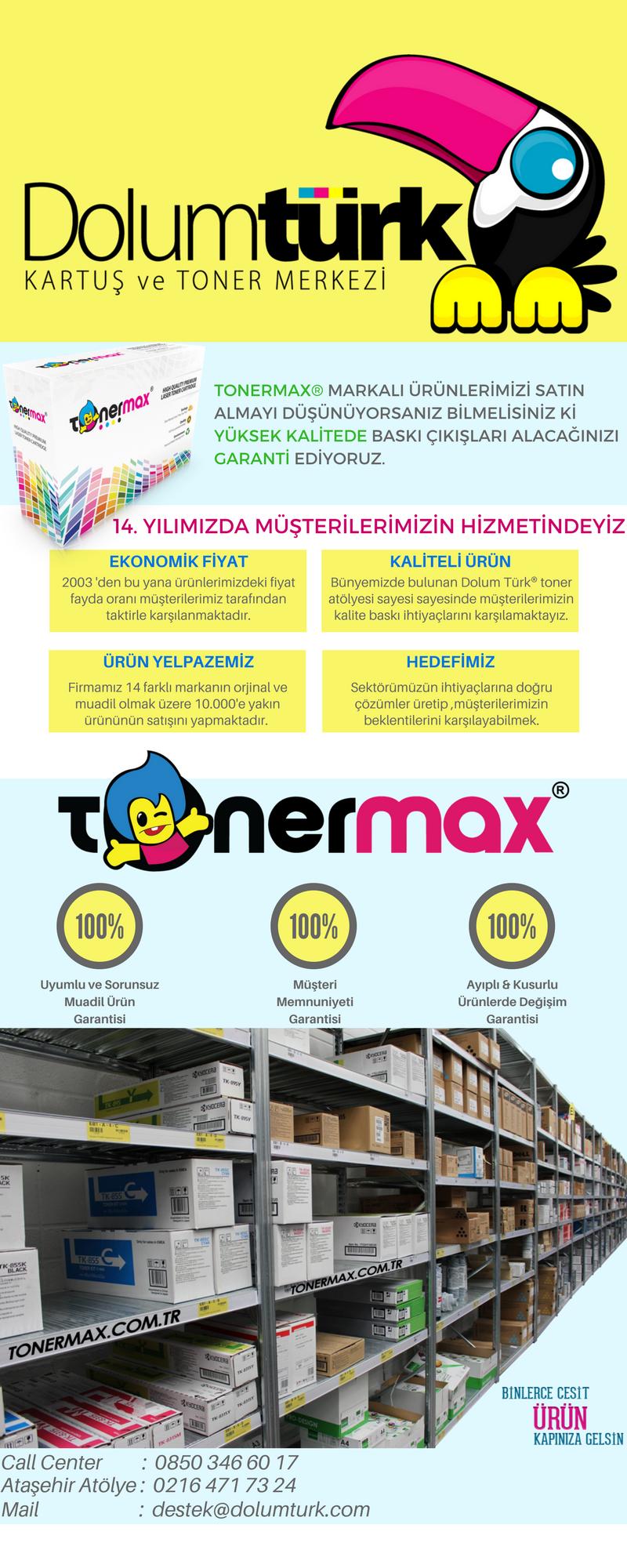 Tonermax Muadil Toner