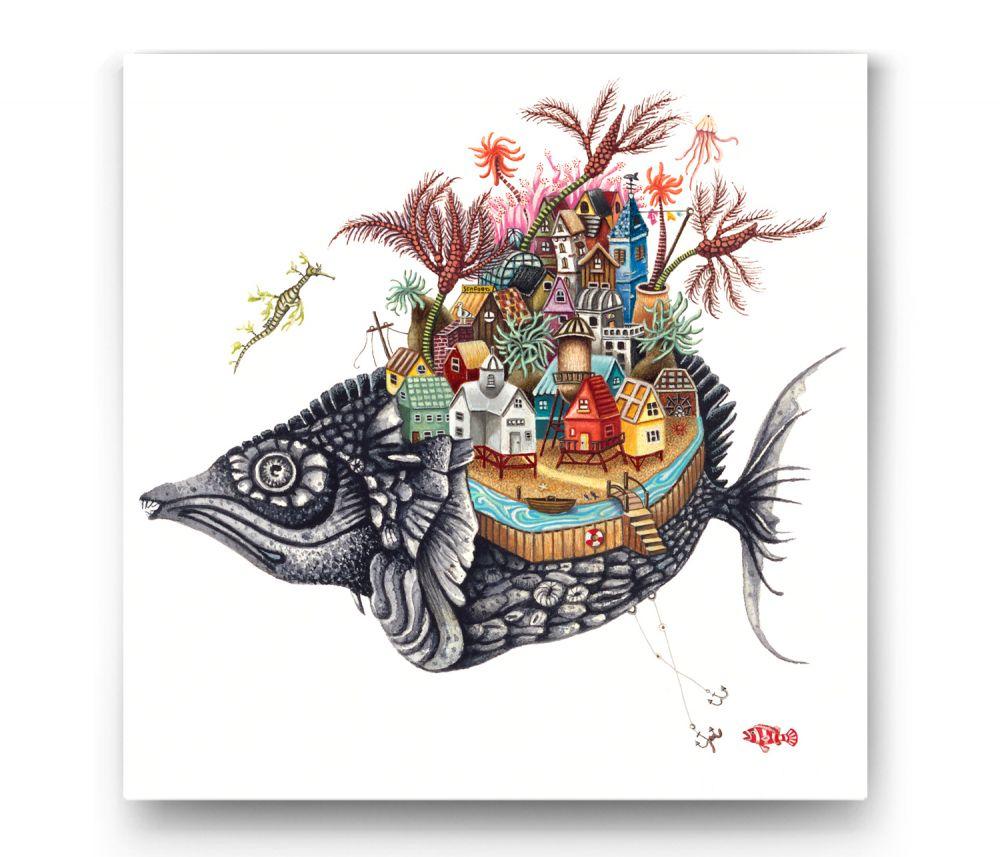 Balık Evi Tablo