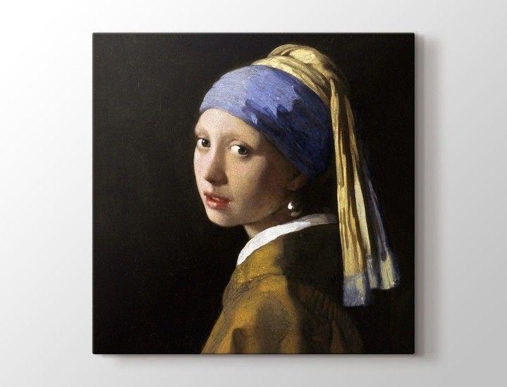 Johannes Vermeer - İnci Küpeli Kız Tablo