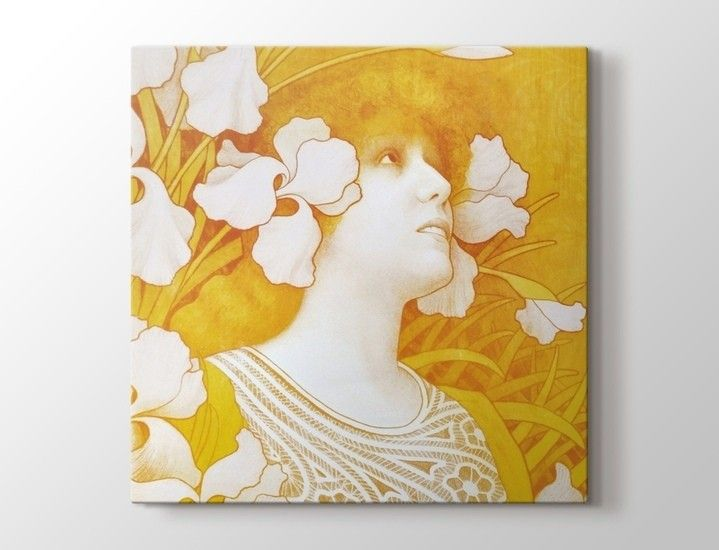 Paul Berthon - Sarah Bernhardt Tablo