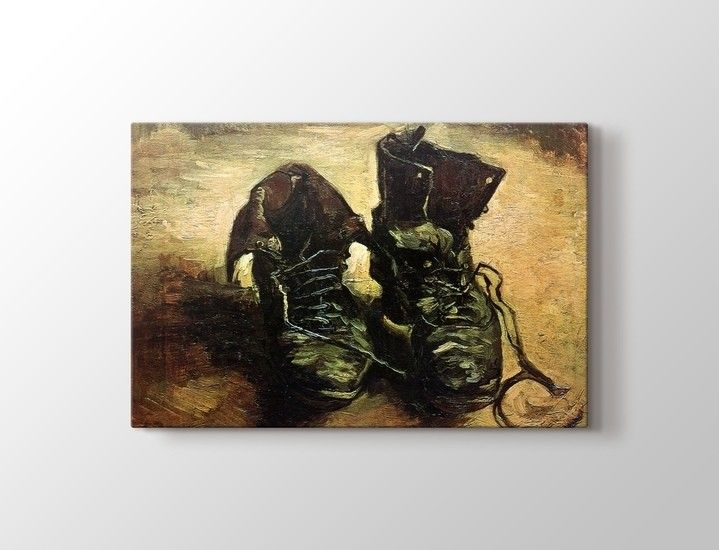 Vincent van Gogh - Pair of Shoes Tablo