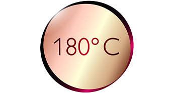 Mükemmel sonuçlar için 180°C sıcaklık