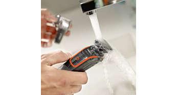 Düzeltici musluk suyu altında yıkanabilir